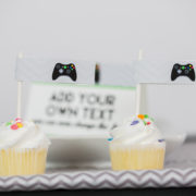 Video Game Party Party Flags