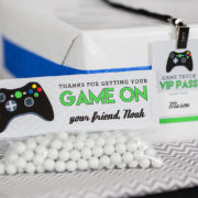 Video Game Party Treat Bag