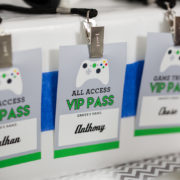 Video Game Party VIP Badge