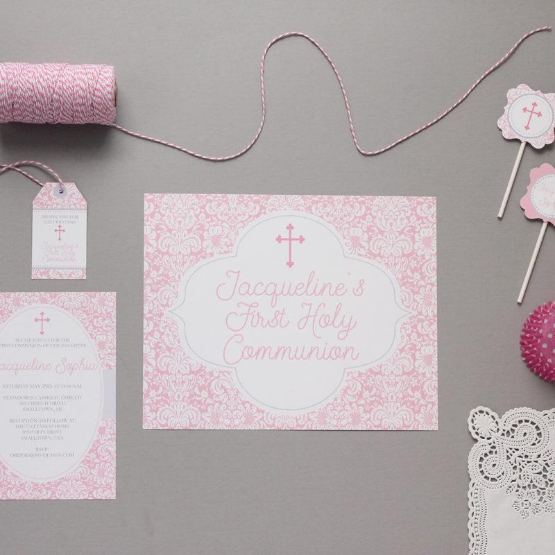 First Communion Decorations