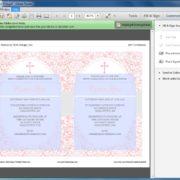 Editable Pink First Communion Invitation
