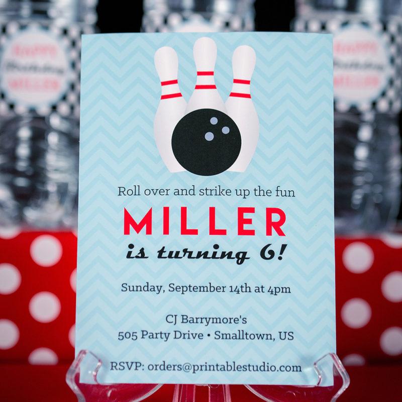bowling-invitation