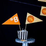 Basketball Party Centerpieces