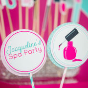 Spa Party Centerpiece