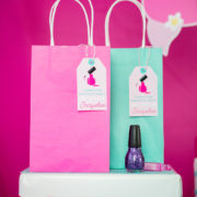 Spa Party Favor Tag