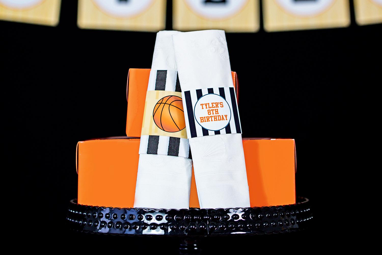 printable basketball birthday party decorations � 505