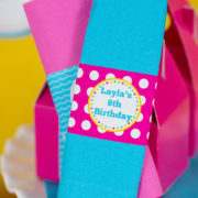 Girls Pool Party Napkin Ring