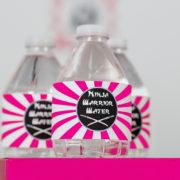 ninja-girl-water-label