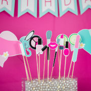 Printable Spa Party Photo Booth