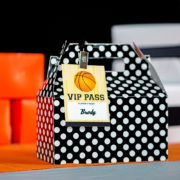 Basketball Party VIP Badge
