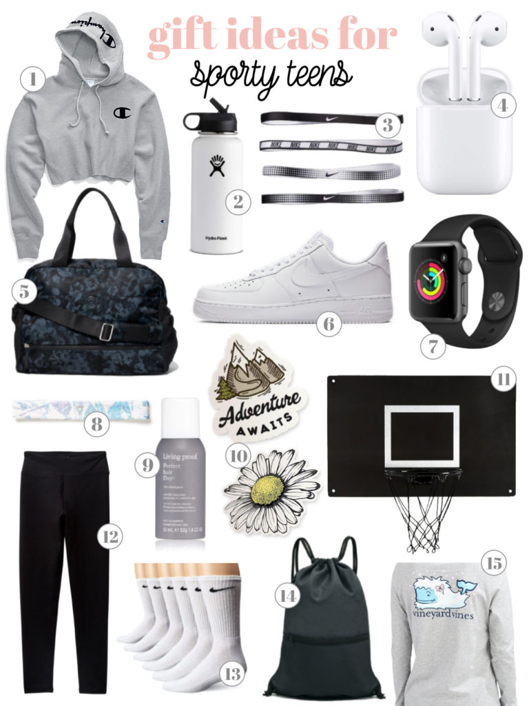 Gift Guide for Athletic Girls