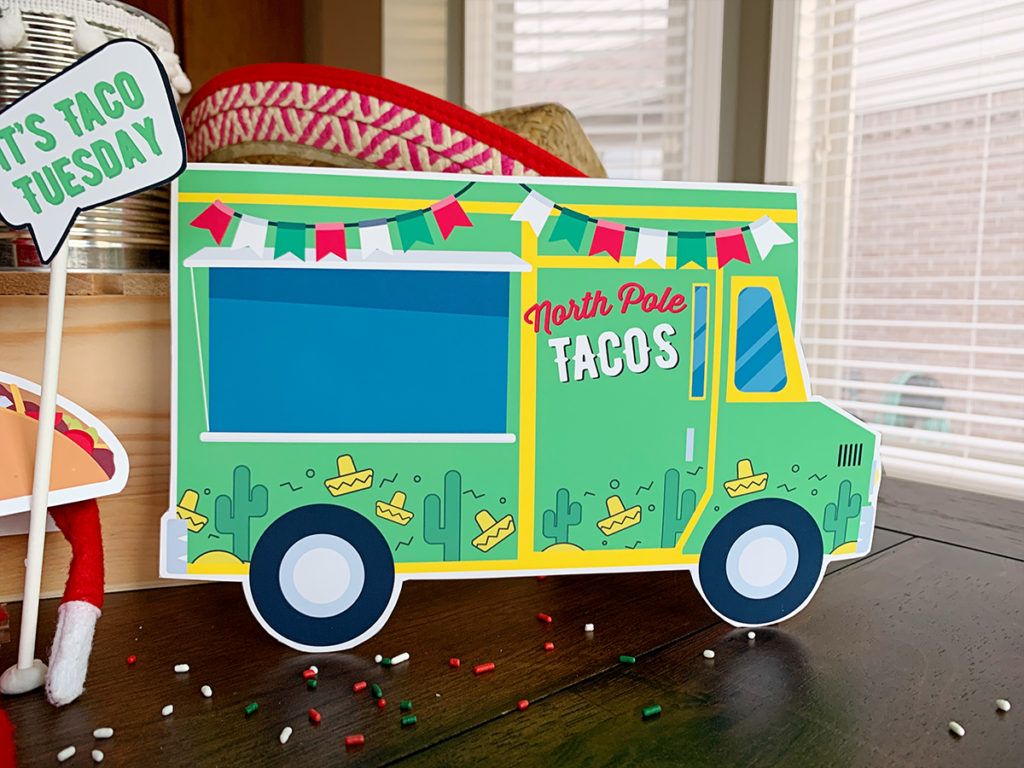 Elf on the Shelf Taco Truck