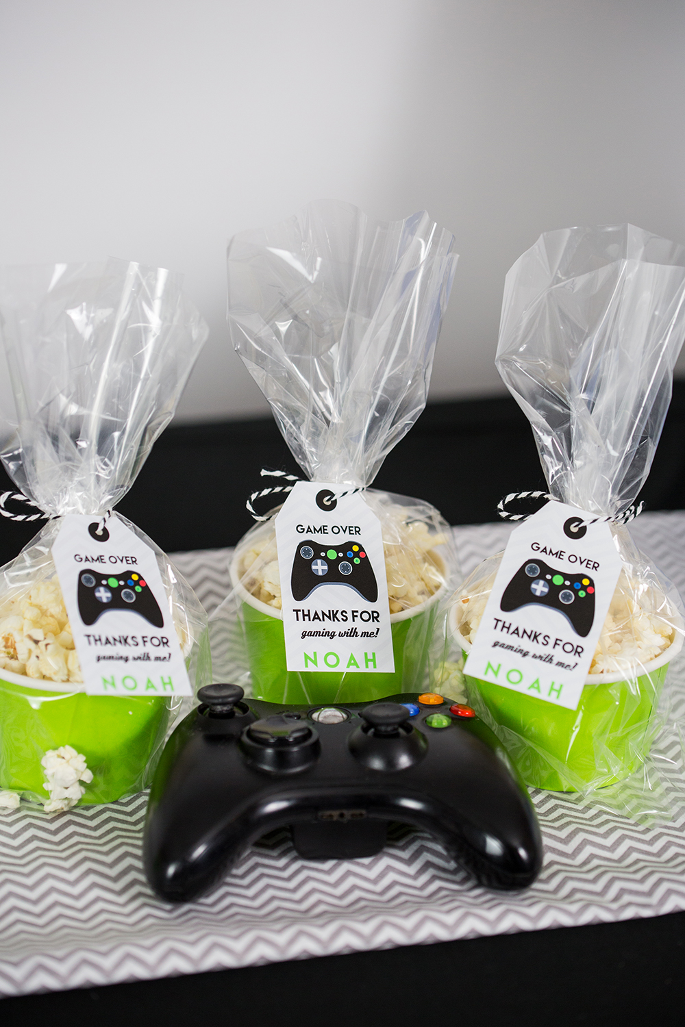 Video Game Birthday Party Decorations with Black ...
